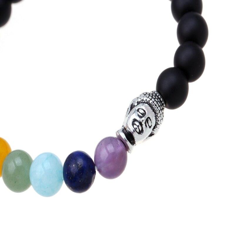 Buddha bracelet Beads Bracelets Matte For Women/ Men Jewelry Rope Chain Natural Stone Bracelets pulseras paracord bracelet