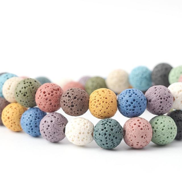 Lava Stone Beads 2