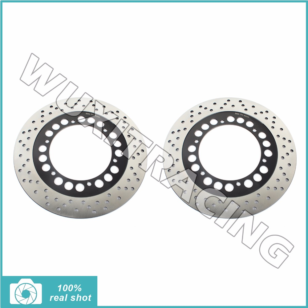 2pcs Motorcycle Front Brake Discs Rotors for YAMAHA XV 1100 Virago S Special 1996 1997 1998 XVZ 1300 Venture Royal Star 86-01 free shipping 10pcs lot dap8a sop 8 new original