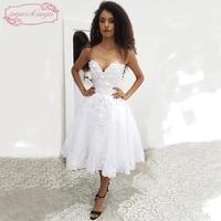 SuperKimJo White Graduation Dresses for Girls 2018 Short 3D Flowers Applique Cheap Homecoming Dresses 2017 Vestido Branco Curto