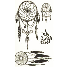 10x6cm Temporary Small Cute Fashion Tattoo Three Simple Dreamcatcher