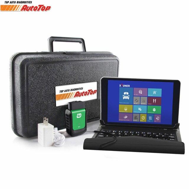 Big Sale 2018 Vpecker Easydiag OBD2 Wifi / Bluetooth V10.6 OBD 2 Automotive Scanner +8 inch Windows 10 Vpecker Tablet ODB 2 Autoscanner