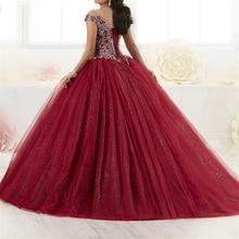vestido ball gown robe de baln ballkleid Spaghetti Straps Embridery Beading Lace Up Court Train vestidos de quinceanera dresses
