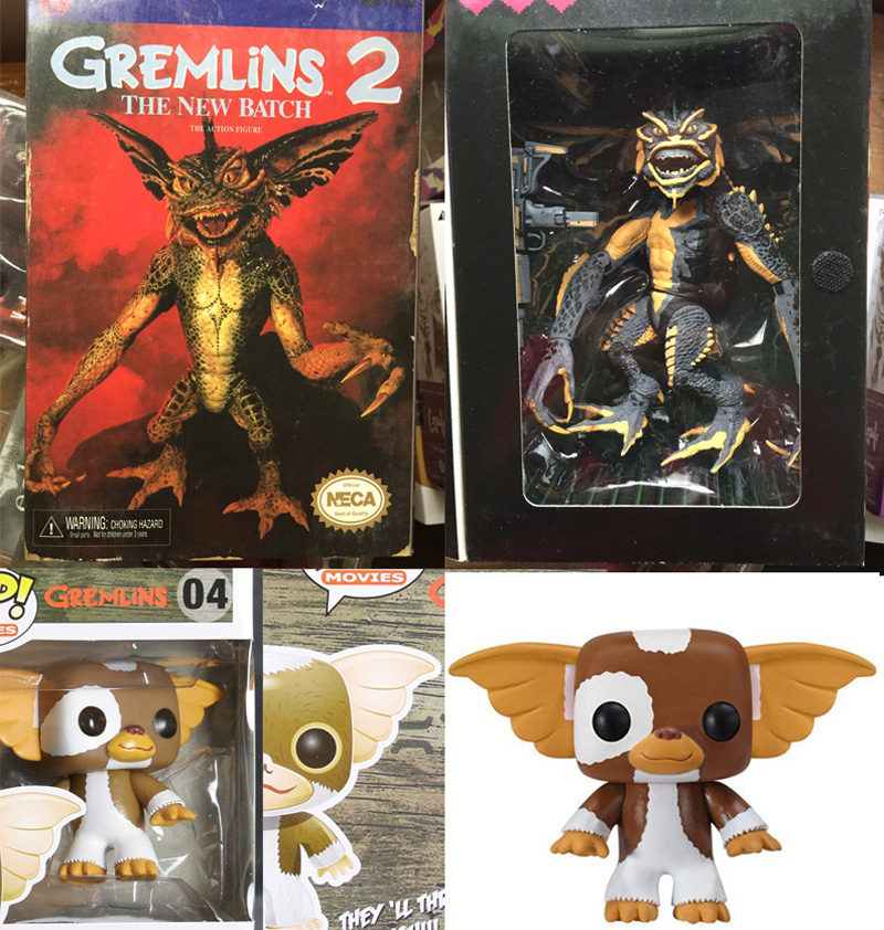 Vogue NECA Gremlins 2 The New Batch Action Movies Gremlins Gizmo Vinyl Figure 04 # Original Collections