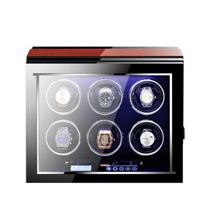 Image 3 - M & Q uhrenbeweger اليابانية mabuchi محرك خشبي تحكم آمن led التلقائي ملفاف ساعة ملفاف صندوق