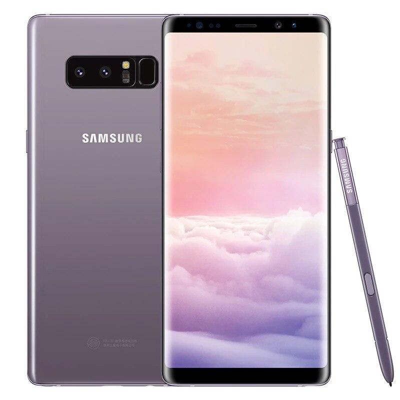 Téléphone Original utilisé GALAXY Note8 N950U simple Sim 6.3 ''pouces NFC empreinte digitale téléphone Android 12.0MP 4G RAM 64G ROM 4G LTE Octa