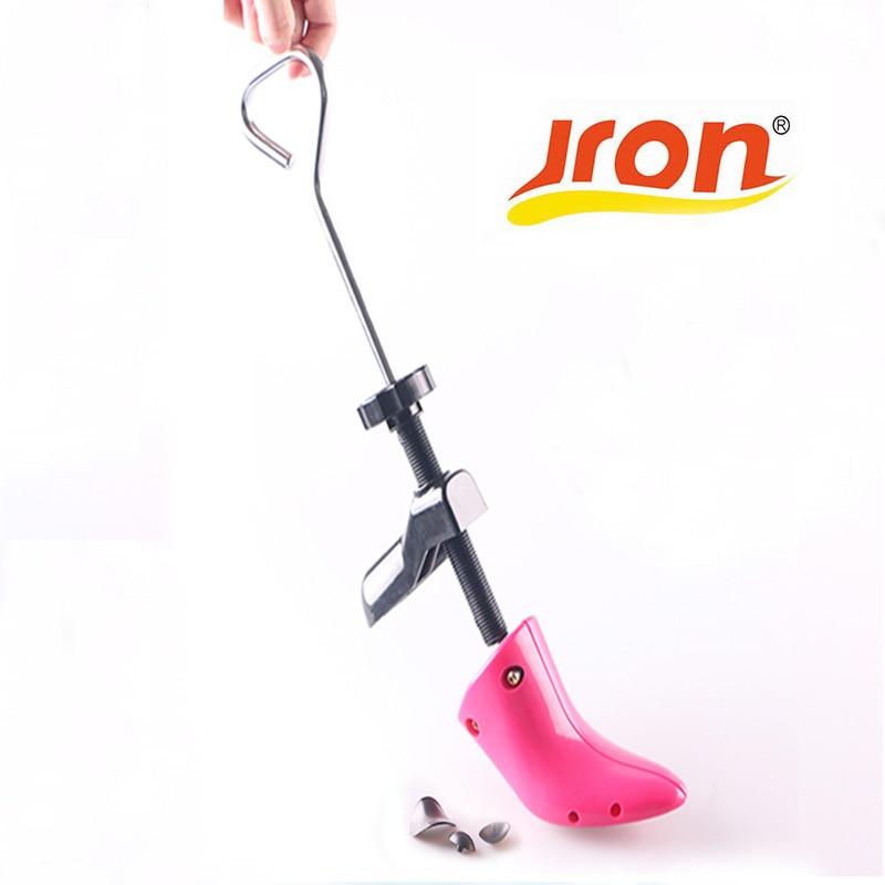 2 Parça Plastik Çelik Yüksek Topuk Ayakkabı Ağacı Ayarlanabilir Kadınlar Pompa Ayakkabı Sedye 2 Şekil Ahşap Ayakkabı Ağacı Korumak Için Şekli