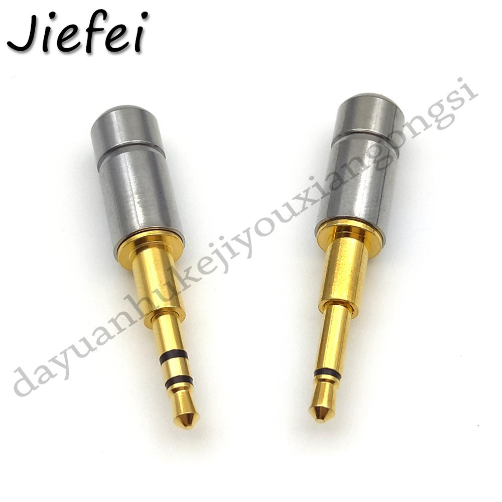 1pcs Short shell, long plug mini <font><b>2.5mm</b></font> Headphone <font><b>Jack</b></font> Plug 2 3 Pole mono <font><b>Stereo</b></font> Audio <font><b>Jack</b></font> Connector for Cable Adapter image