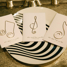 Musical Note Shaped Paper Clips 36 PCS