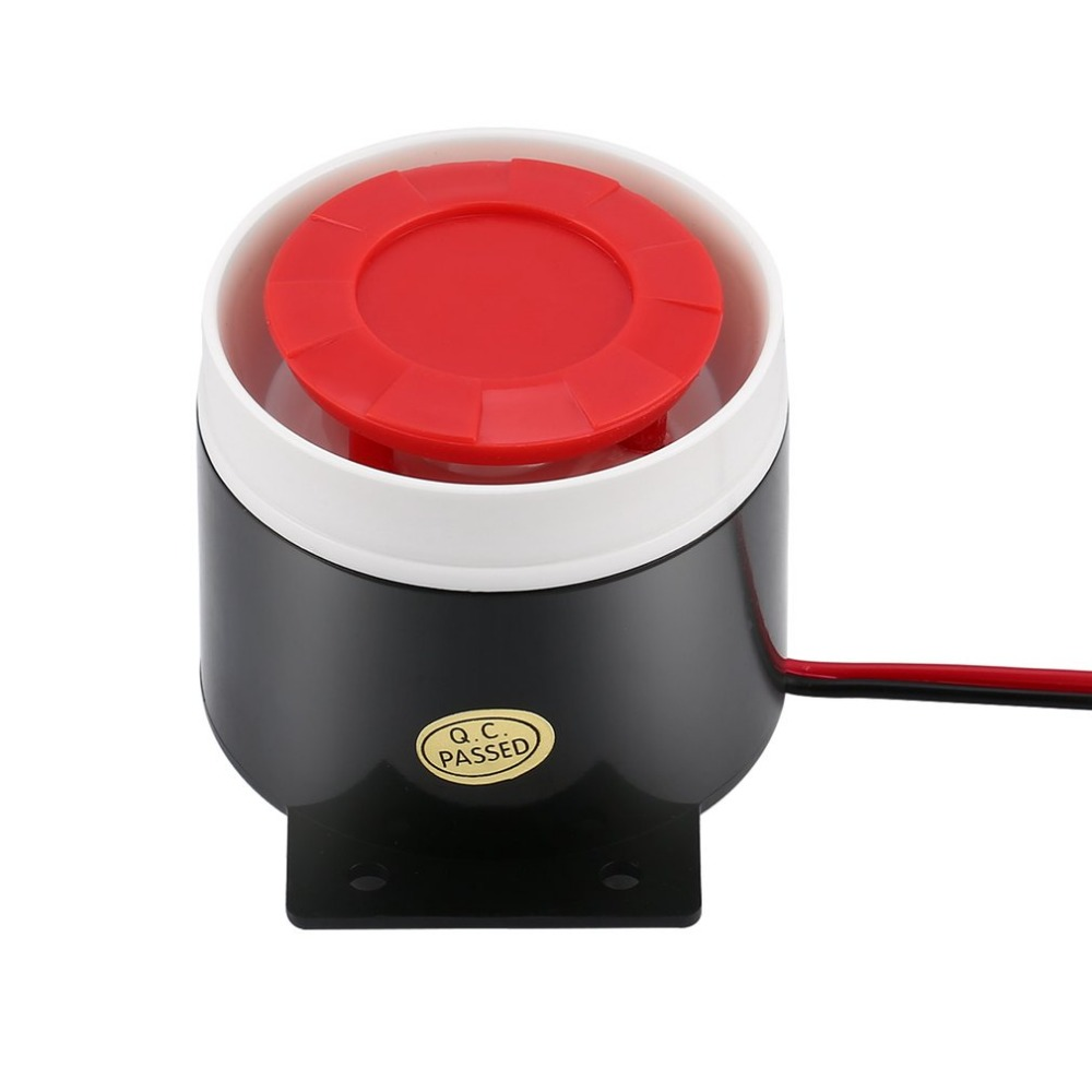 Alarm Siren Hearty Dc 12v Mini Wired Siren Horn Security Anti-theft Alarm Horn 120db Loudly Siren For Wireless Home Alarm Security System