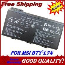 аккумулятор для ноутбука Msi CX620 CX620MX CX623 CX700 CX720 GE700 BTY-L74 BTY-L75 A5000 A6000 A6203 A6205 A7200  CR600 CR610 CR610X CR620 CR630 CR700 CX600