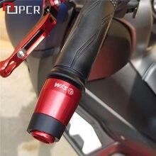 Dla SYM CRUISYM 150 180 300 GTS 300 300i akcesoria motocyklowe CNC uchwyt kierownica chwyty koniec