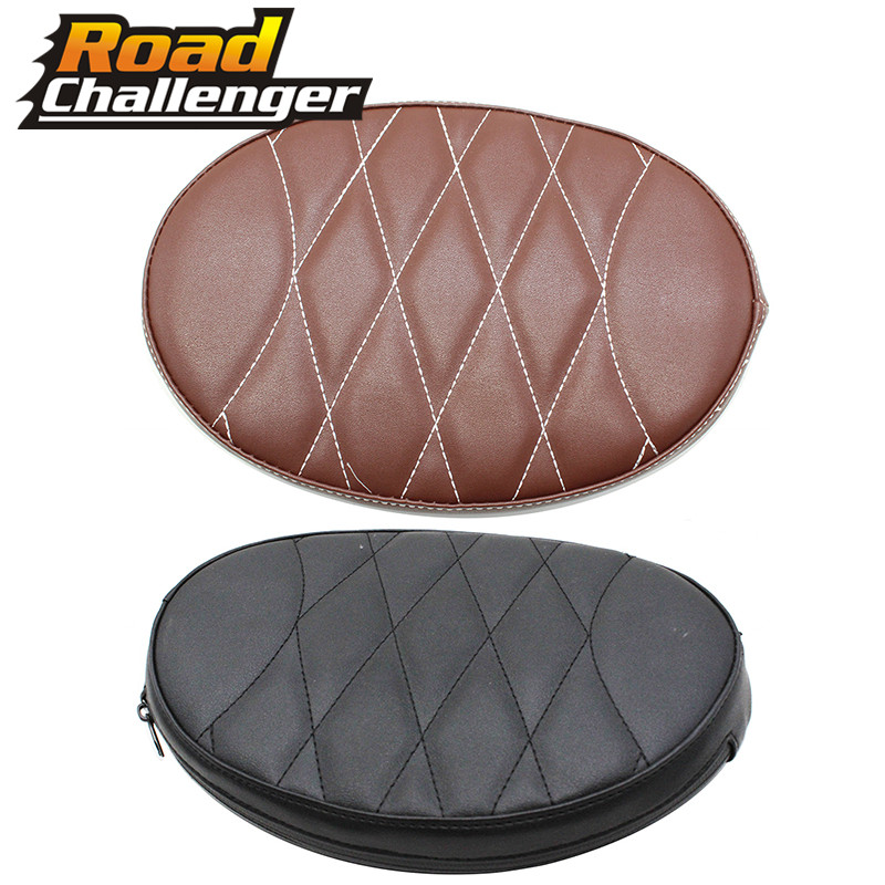Motorcycle Front Driver Rider Sissy Bar Seat Backrest Pad For Touring Road Gilde FLHX 1997-2019