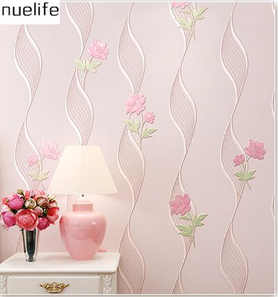 4D three-dimensional flower  wallpaper living room TV background wall environmental non-woven modern garden wallpaper N12 three dimensional analysis of non planar coupled shear walls