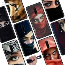 Islamic girl Black Soft Case for Oneplus 7 Pro 7 6T 6 Silicone TPU Phone Cases Cover Coque Shell