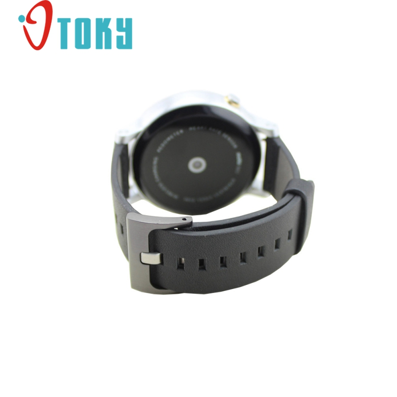 Excellent Quality 22mm New Brand Genuine Leather Watch Band Strap for Motorola Moto 360 2nd 46mm kimisohand classic fashion genuine leather watch band strap for motorola moto 360 2nd 42mm