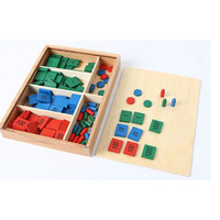 Montessori Stamp Game Pro Math Toys Early Childhood Education Training Learning baby Kids Toys boys girls gift