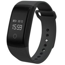 Smartch 2017 A09 Smart Band Сенсорный экран часы браслет артериального давления сердечного ритма Мониторы шагомер Фитнес смарт-браслет