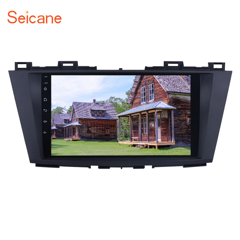 Seicane Android 8 1 9 2 Din Bluetooth Car Radio Stereo For Mazda 5 2009 2010