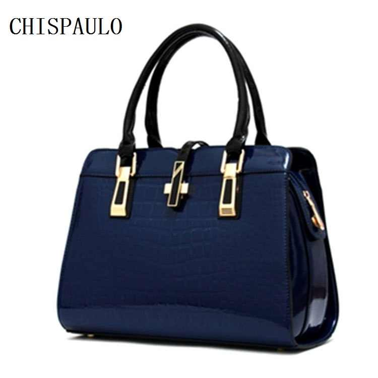 Luxury Brand Designer Handbags Genuine Leather Bags For Women 2018 Fashion Shoulder Tassel Ladies Messenger Crocodile Bags F328