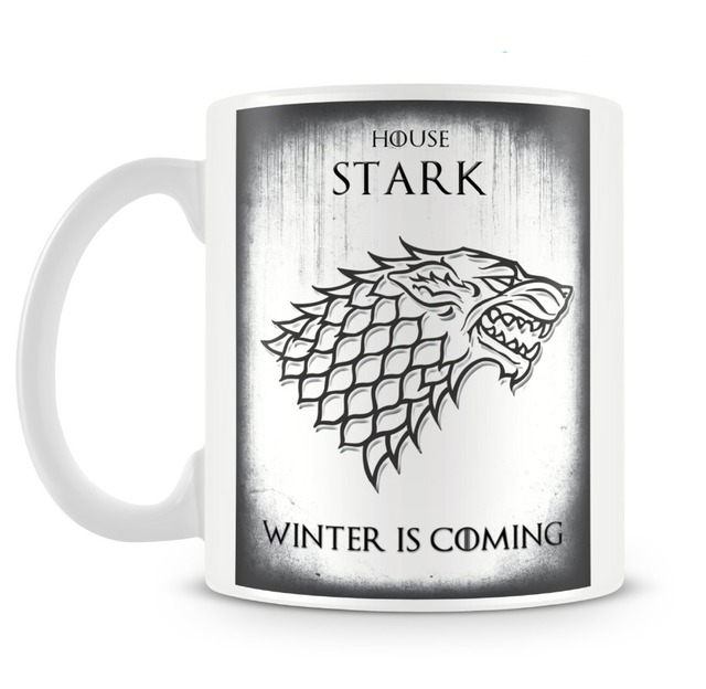 Eco-Friendly Game of Thrones Porcelain Mugs