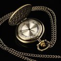 New Polished Tone Vintage Analog Quartz Pocket Watch fashion cool