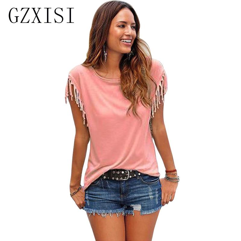New fashion women t shirts short sleeve women tops for Girls shirts size 8