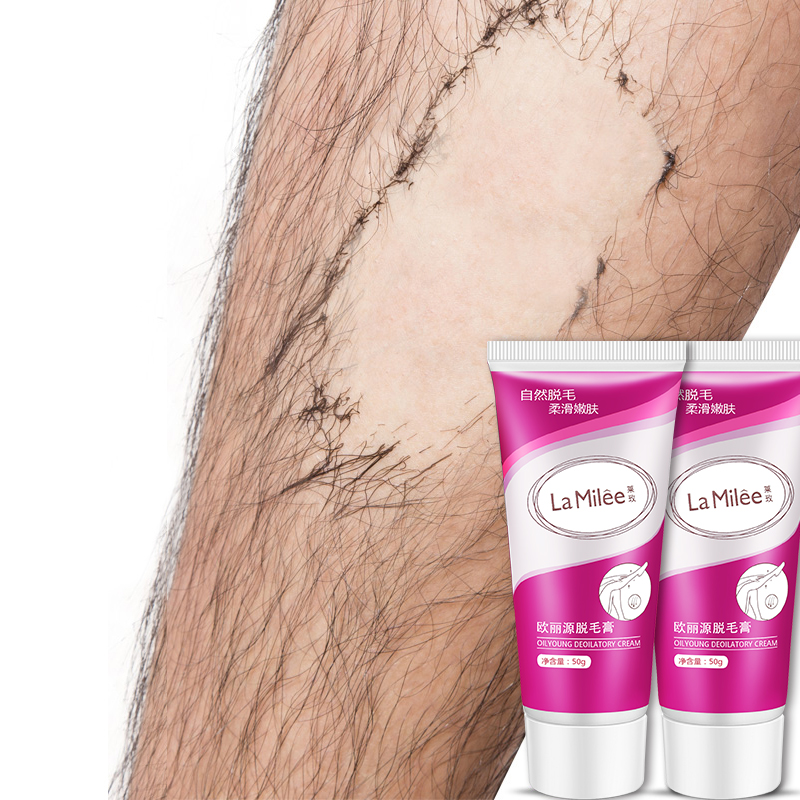 Unisex Herbal Hair Removal Cream Depilatory Cream Painless Hair Removes Underarm Leg Hair Body Care Gentle Not Stimulating