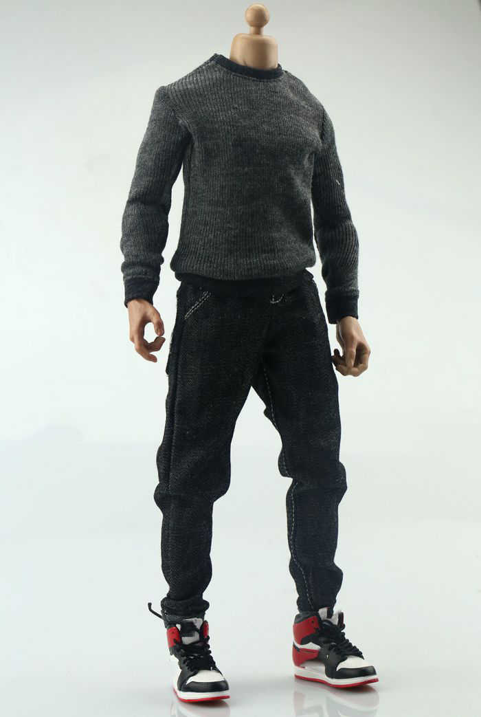 2x 1:6 Scale Pants for 12inch Action Figure Male Body Accessory DIY Clothes