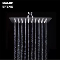 Hot Sale Wholesale And Retail Promotion Modern Chrome ShowerHead Wall Stainless Steel 6 Celling Mounted Rain