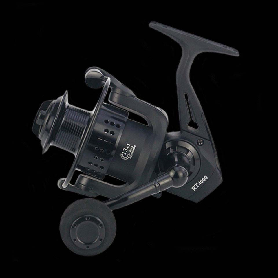 WALK FISH 13+1BB Metal Spool All metal CNC Rocker Arm 2000-7000 series Spinning Reel without clearance Fishing Reel стоимость