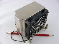 משמש צלעות קירור ומאוורר עצרת עבור HP Z400 Z600 Z800 תחנת עבודה מעבד 463990 001