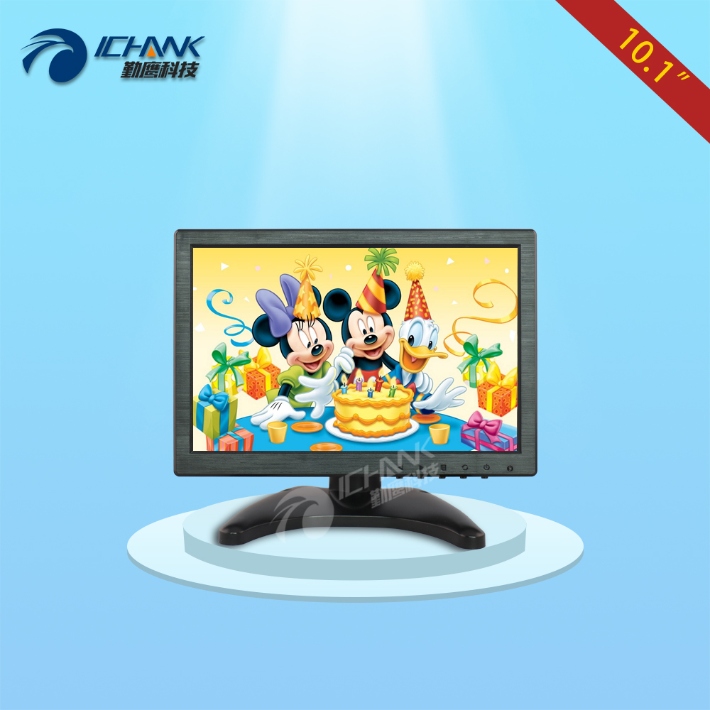 ZB101JN-V56/10.1 inch 1280x800 IPS Full View 1080p HDMI VGA POS Machine Video Camera For Raspberry Pi 3 PS3 XBOX PS4 LCD Monitor