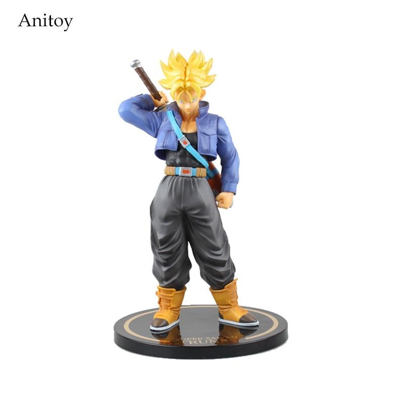 "Figuarts Zero EX Dragon Ball Super Saiyan Trunks PVC Action Figure Collectible Model Toy 10"" 25cm KT2295"