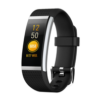 ORDRO FIT HR 2 Waterproof Smart Bluetooth Wristbands Sleep Heart Rate Fitness Monitor Anti Lost Alerter