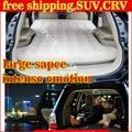 DHL cama para el automóvil inflable + Bomba de Aire + 2 unids Almohada Coche de Vuelta asiento de Cubierta de Colchón De Aire Cama de Viaje Inflable Que Acampa Pad coche sexo cama