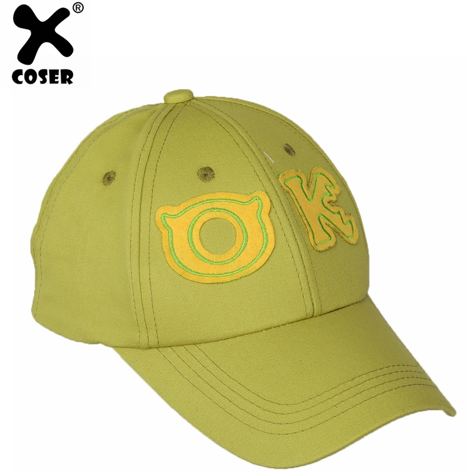 Xcoser Monsters University Oozma Kappa Baseball Cap Christmas Gif Mike Wazowski Cotton Hat Cosplay Costume Accessory For Unisex Costume Accessories Aliexpress