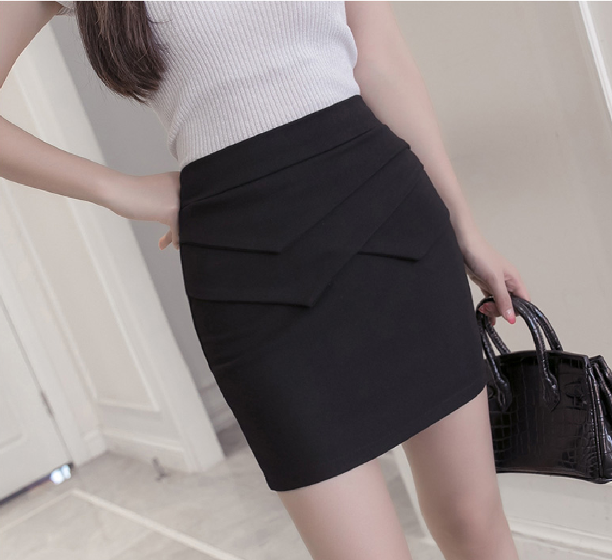c1833efd23a Plus Size 3XL OL Club Party Skirts Saias Women Elastic Formal Office Skirt  2018 Summer Slim High Waist Sexy Mini Pencil Skirt-in Skirts from Women s  ...