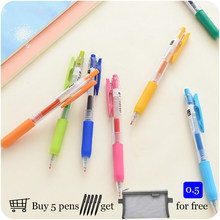 Smooth Colorful Zebra Gel Pen JJ15 Sarasa Push Clip 0.5 mm 20 Colors Available Student Pen Writing Supplies(China)