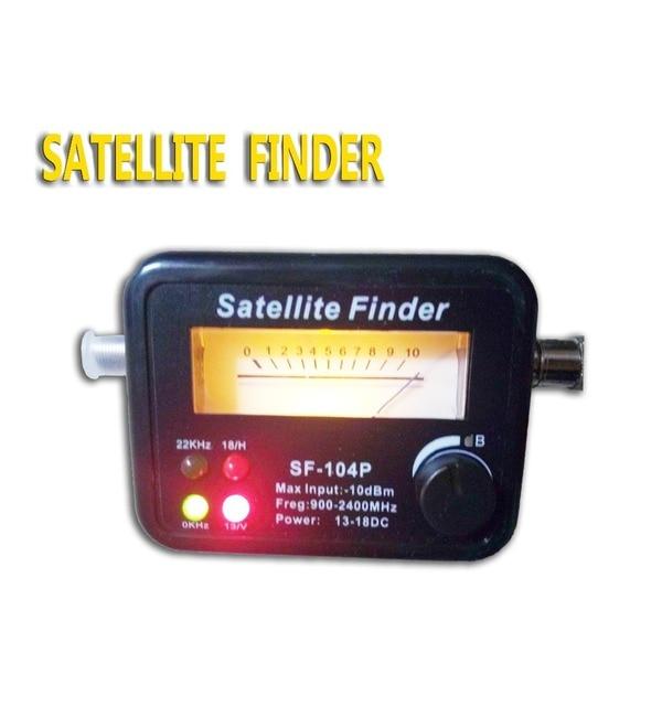 Four lights Digital Satellite Finder Alignment Signal Satfinder Find Meter LNB Dish DirecTV Network Satellite Dish