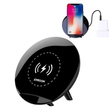 JOYROOM Universal QI Wireless Charging Pad For Apple iPhone X Samsung Galaxy S8 Plus Fast Wireless Charging Stand Charger Adapte
