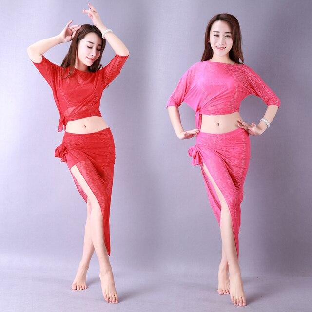 Bellydance oriental Belly Indian eastern baladi hair swinging robe dance dancing costumes clothes bra belt skirt dress set 3202