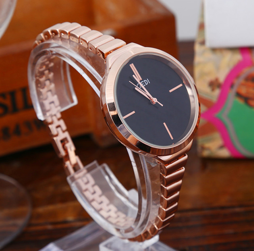 GEDI Fashion Bracelet Simple Women Watches Best Luxury Brand Ladies Dress Quartz Wrist Watch Relogio Feminino Reloj Mujer Clock relogio feminino clock women ladies simple love eiffel tower round quartz analog bracelet wrist watch gift dress watches sale