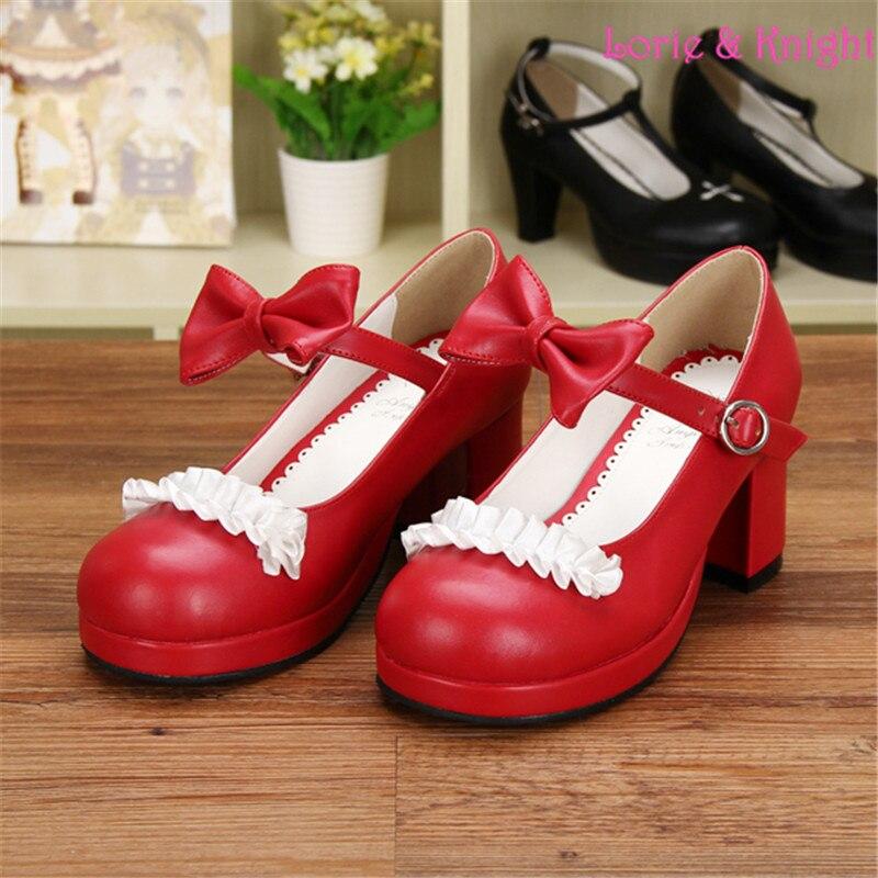 Online Buy Wholesale red block heels from China red block heels ...