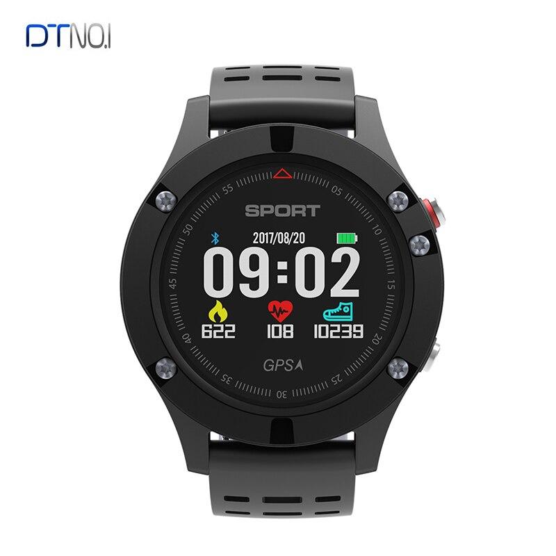 D'origine DTNO. JE NO 1 F5 Smartwatch IP67 Montre Étanche Fréquence Cardiaque GPS Moniteur de Sommeil Bracelet Sport Smartwatch Pour Android IOS