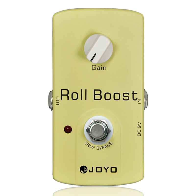 Купить с кэшбэком JOYO JF-38 Roll Boost Guitar Effects Pedal 9V DC Electric Guitar Effects Stompbox Accessory Parts Effect