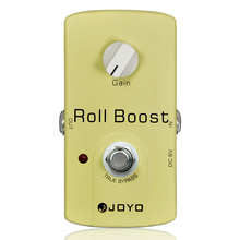 Roll Boost Guitar Effect Pedal JF38 JOYO 9V DC Electric Guitar Effects Stompbox Accessory Parts Effect biyang x drive overdrive guitar effect pedal stompbox for electric guitar chipset changeable to create diffenet tone od 8