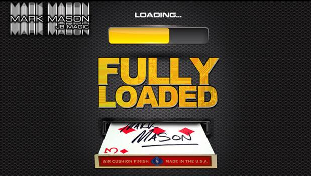 Fully Loaded Card (DVD And Gimmicks) By Mark Mason Magic Tricks Close Up Stage Props Illusion Mentalsim Magician Magie Mystery image