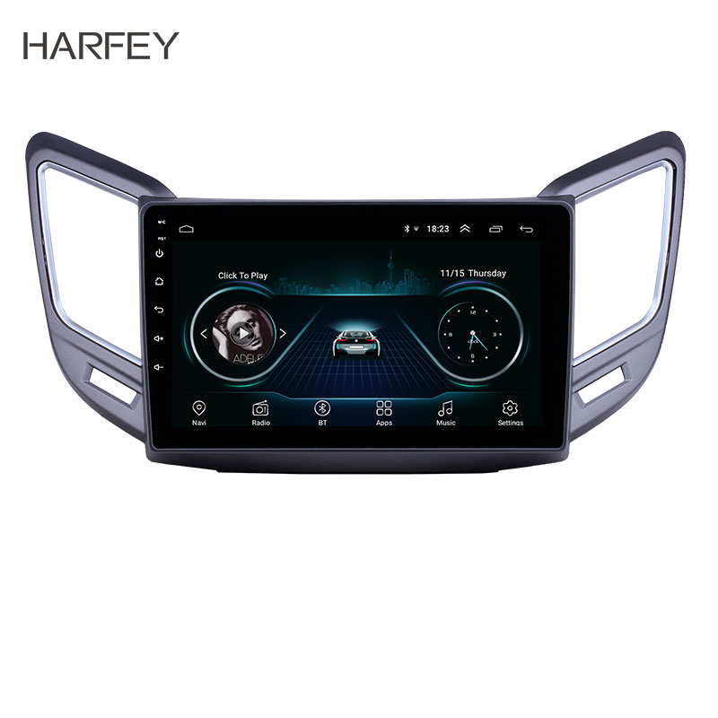 Harfey 9 pouces Android 8.1 voiture GPS Radio pour Changan CS15 2016-2019 avec Bluetooth WiFi HD écran tactile support Carplay DVR OBD