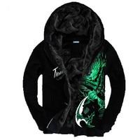 Sweatshirt Men LOL 3D Brand Clothing Men's Fashion Sweatshirt Hoodie Coat Chandal Hombre Male Casual Fleece Hoodies Jacket Men
